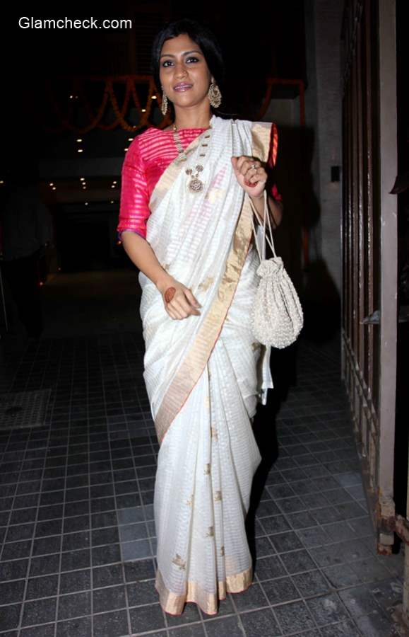 Konkona Sen at Soha Ali Khan Wedding Reception pics