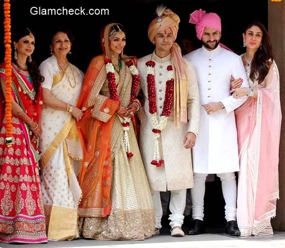 Kunal Khemu and Soha Ali Khan wedding Pictures
