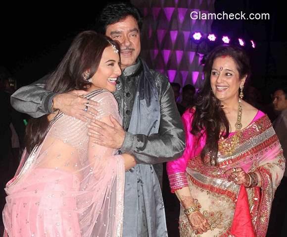 Luv Sinha wedding reception