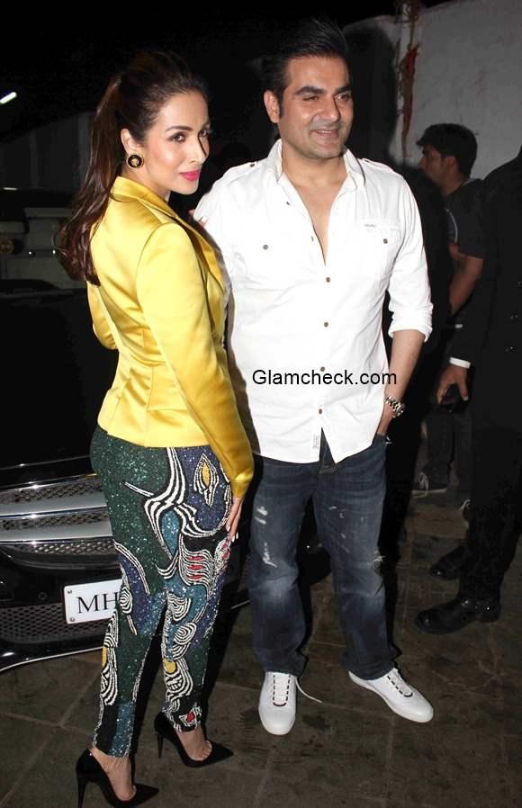 Malaika Arora and Arbaaz Khan at Music launch of film Dolly Ki Doli