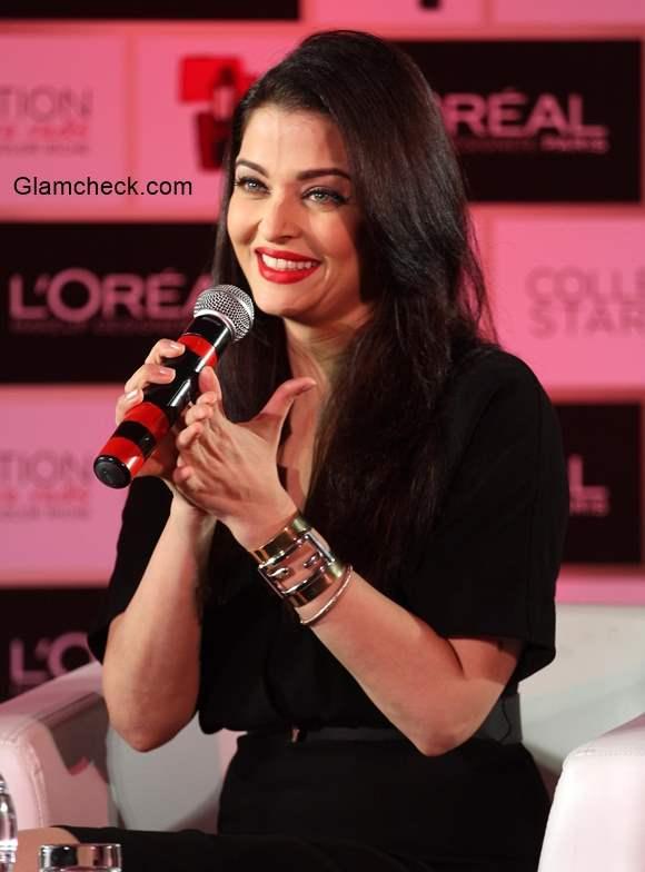 Aishwarya Rai Bachchan Launches Moist Matte Collection ...