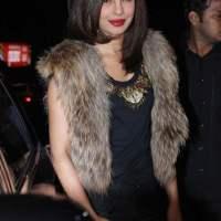 Priyanka Chopra attends Sanjay Leela Bhansali party