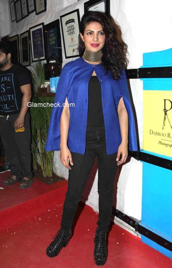 Priyanka Chopra goes Gothic during Dabboo Ratnani 2015 calendar launch