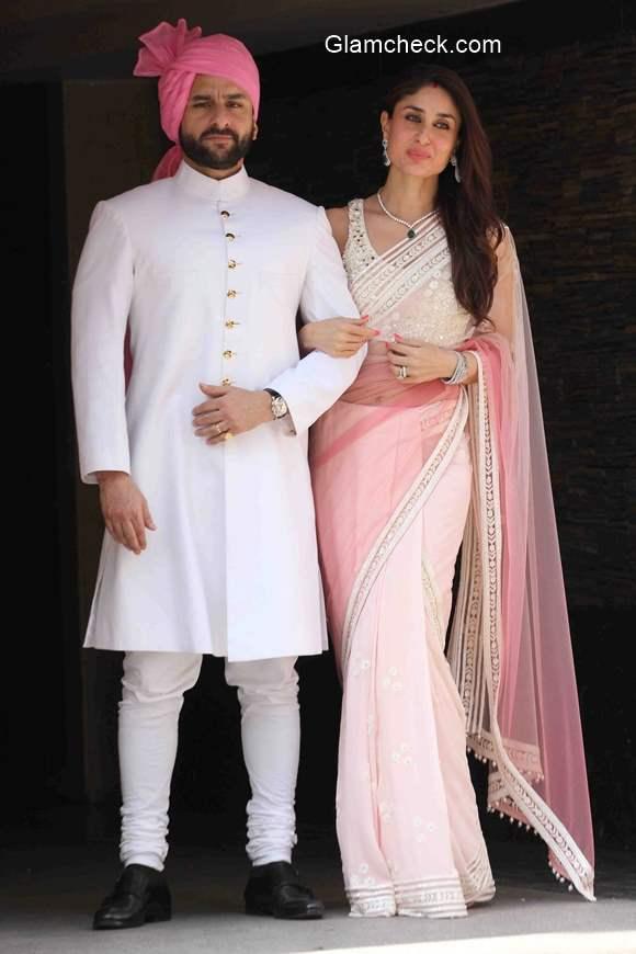 Saif and Kareena at Soha Ali Khan Wedding pics 2015