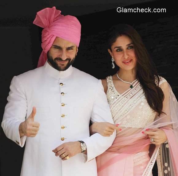 Saif and Kareena at Soha Ali Khan Wedding