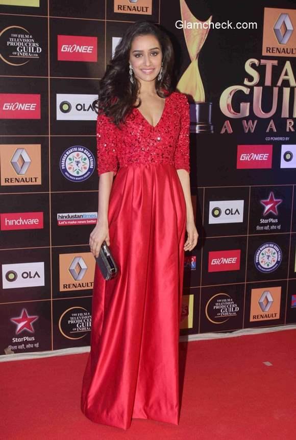 Shraddha Kapoor 2015 Renault Star Guild Awards
