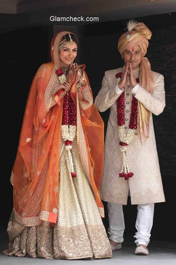 Soha Ali Khan Wedding  Lehenga Sabyasachi