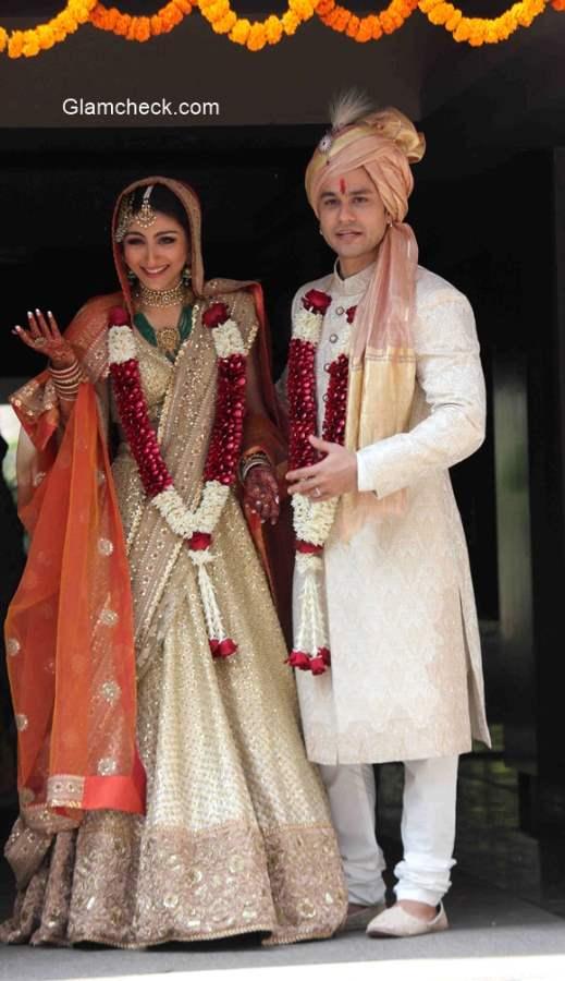 Soha Ali Khan and Kunal Kemu marriage pictures