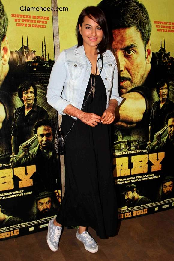 Sonakshi Sinha at the special screening of film Baby