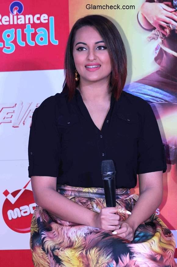 Sonakshi Sinha promotes Tevar in Nitya Bajaj