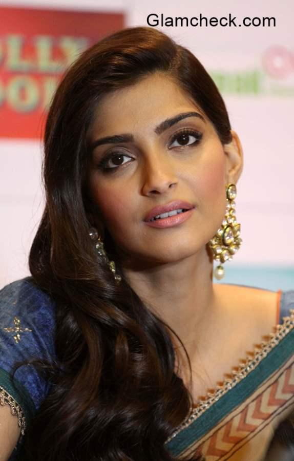 Sonam Kapoor during the promotion of Dolly Ki Doli