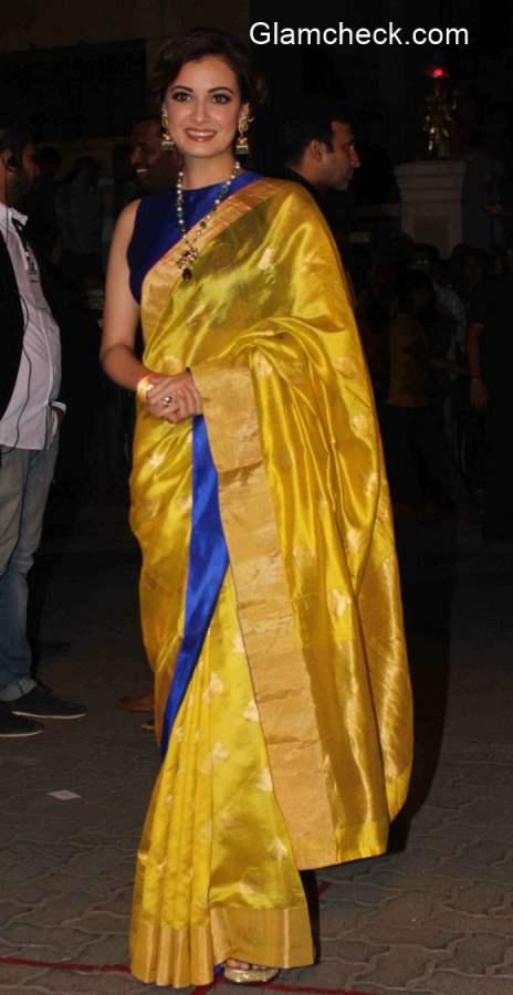 60th Filmfare Awards Dia Mirza