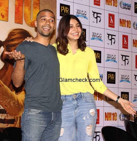 Anushka Sharma at the trailer launch of NH10