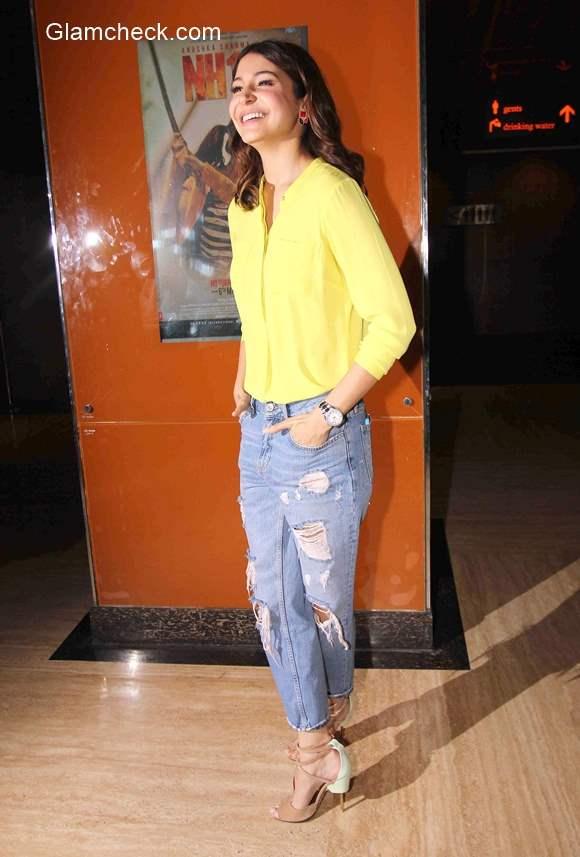 Anushka Sharma style in NH10