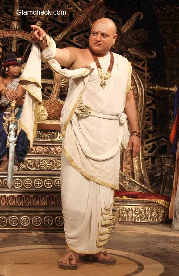 Colors Chakravartin Ashoka Samrat Manoj Joshi