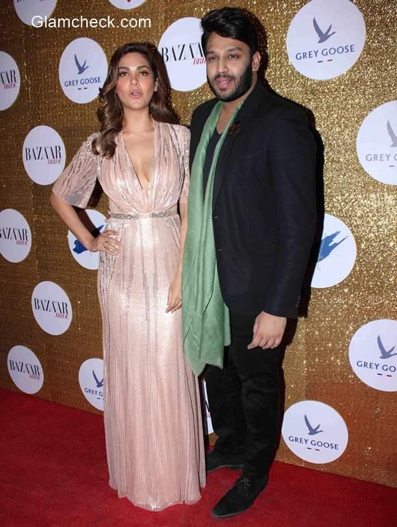 Esha Gupta look at Harpers Bazaar Bride first anniversary party