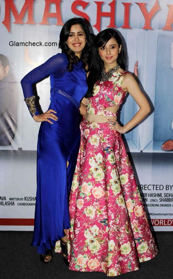 Gunjan Malhotra and Suzanna Mukhe