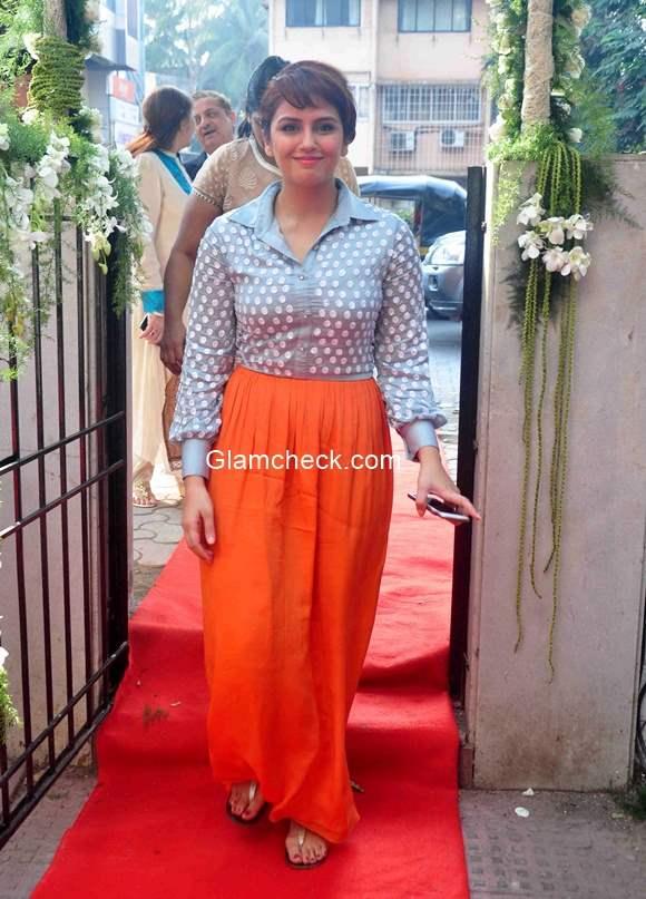 Huma Qureshi during the launch of designer Ashna Gupta Kalra flagship store The Ash Haute Couture