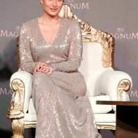 Kareena Kapoor at the New Delhi launch of Magnum ice-creams