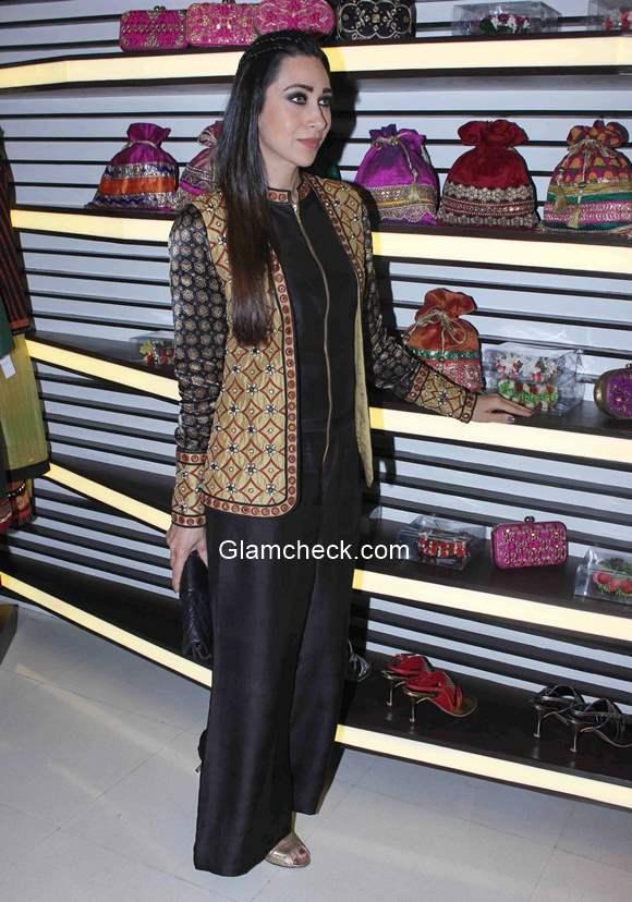 Karisma Kapoor at designer Anjali Jain store launch