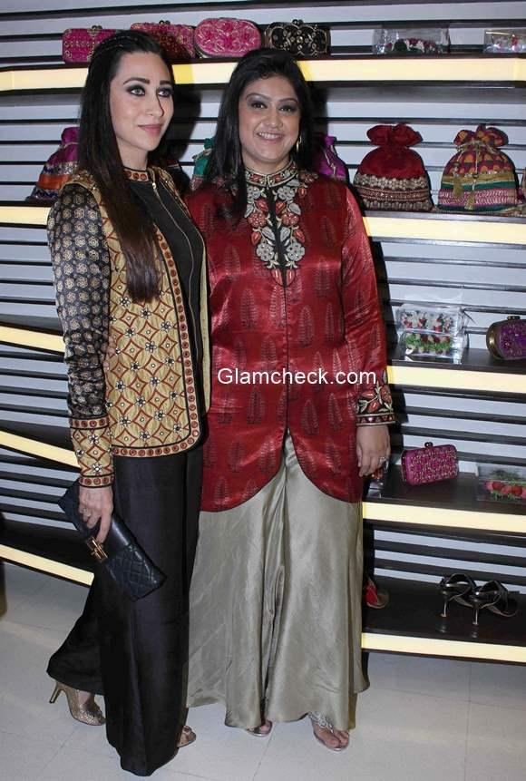 Karisma Kapoor at designer Anjali Jains store launch