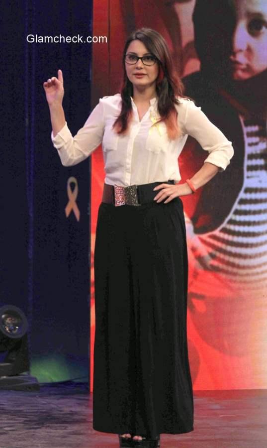 Minissha Lamba at the NDTV Fortis Healthcare organised Cancerthon
