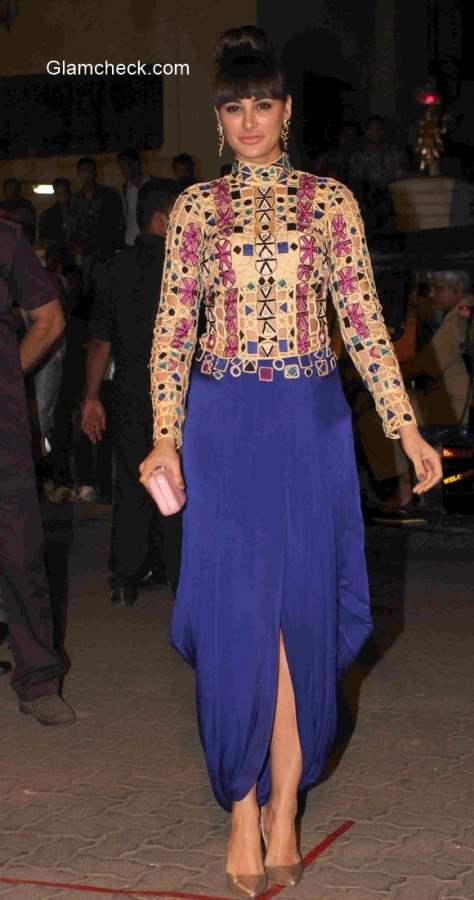 Nargis Fakhri 2015 at 60th Filmfare Awards