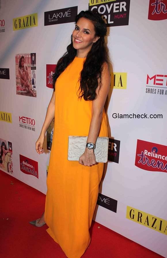 Neha Dhupia at  Grazia Cover Girl Hunt 2015