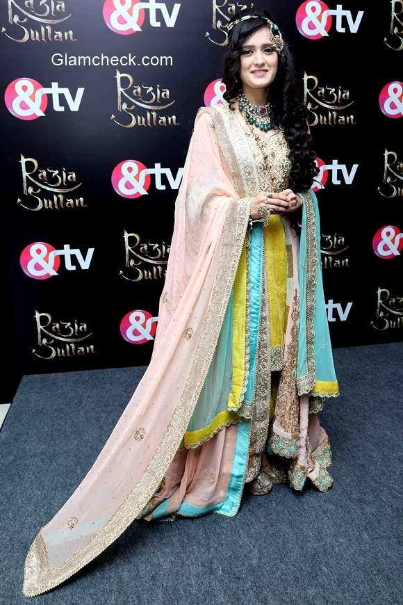 Pankhuri Awasthi in Razia Sultan