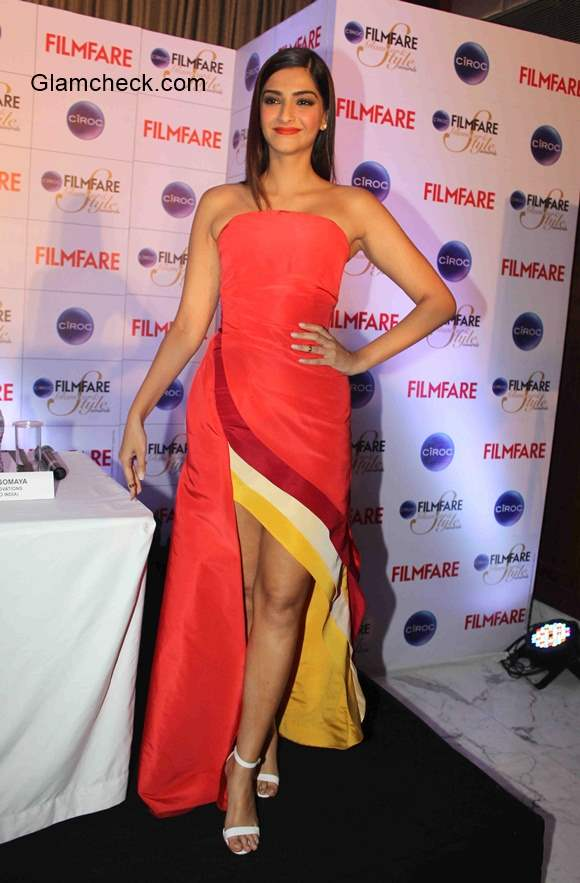 Sonam Kapoor announces the Ciroc Filmfare Glamour and Style Awards