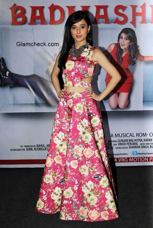 Suzanna Mukherjee in Badmashiyan movie