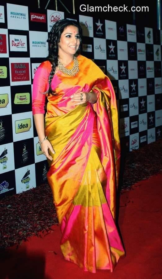 Vidya Balan in Sari 2015