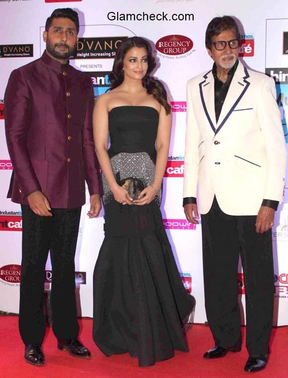 Bachchans at Hindustan Times Mumbais most stylish awards 2015