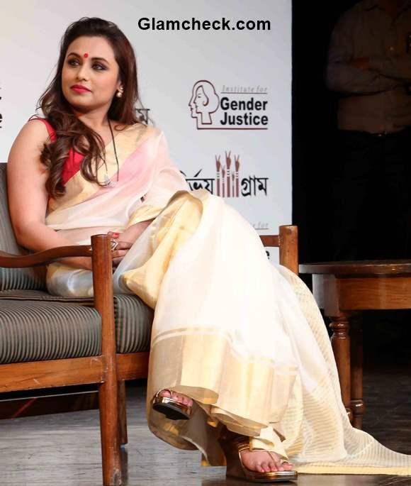 Bengali Look Rani Mukherjee