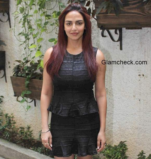Esha Deol attends the trailer launch of film Barefoot to Goa