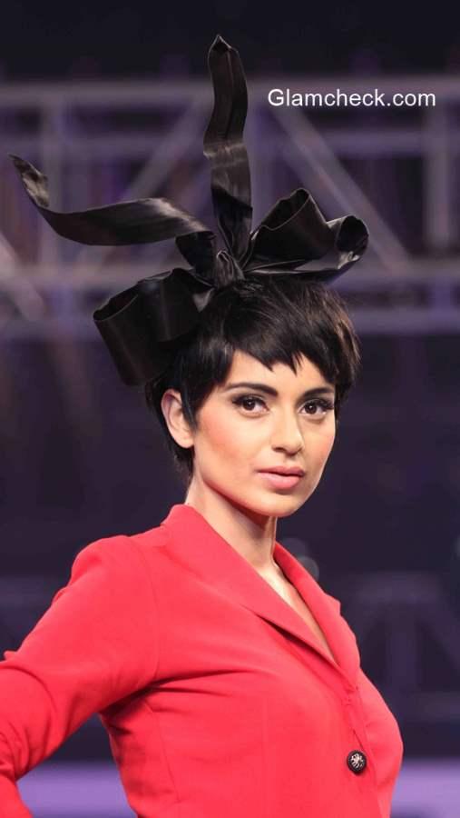 Kangana Ranaut Pixie Hairstyle 2015