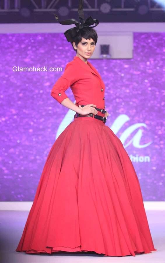 Kangana Ranaut at the launch of Birla Cellulose LIVA