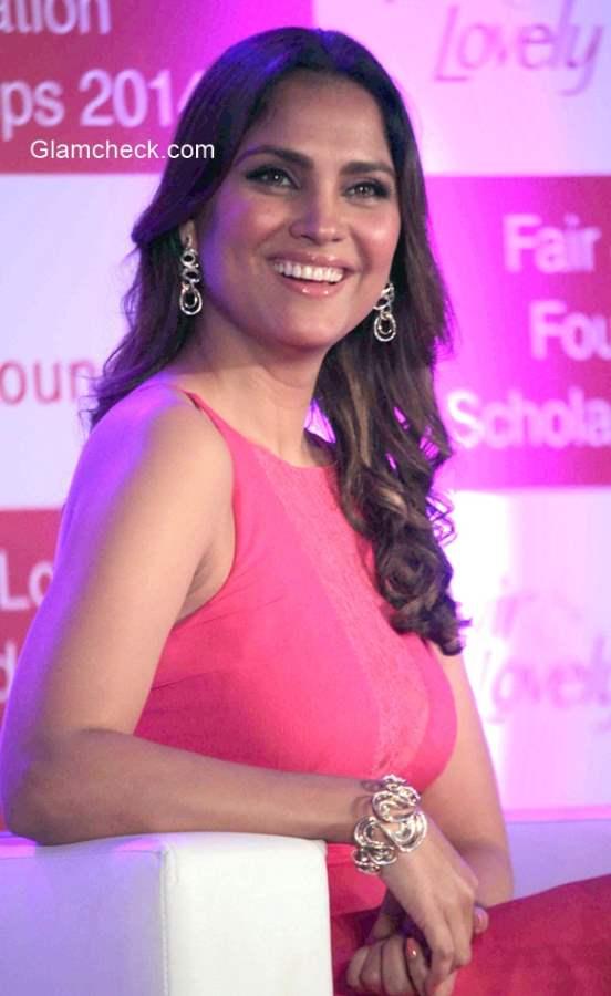 Lara Dutta at Fair and Lovely Foundation