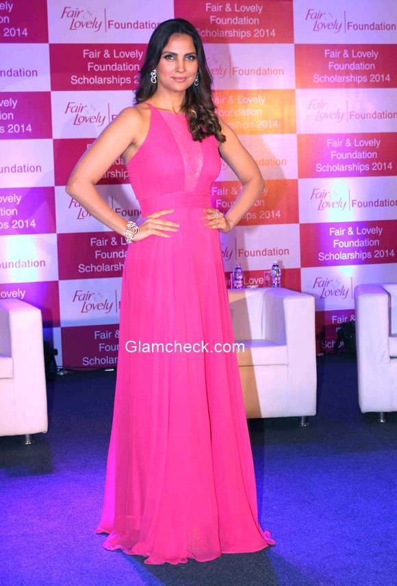 Lara Dutta attends the Fair and Lovely Foundation