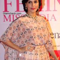 Neha Dhupia at the Grand Finale of Femina Miss India 2015