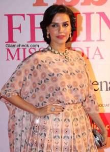 Neha Dhupia at the Grand Finale of Femina Miss India 2015