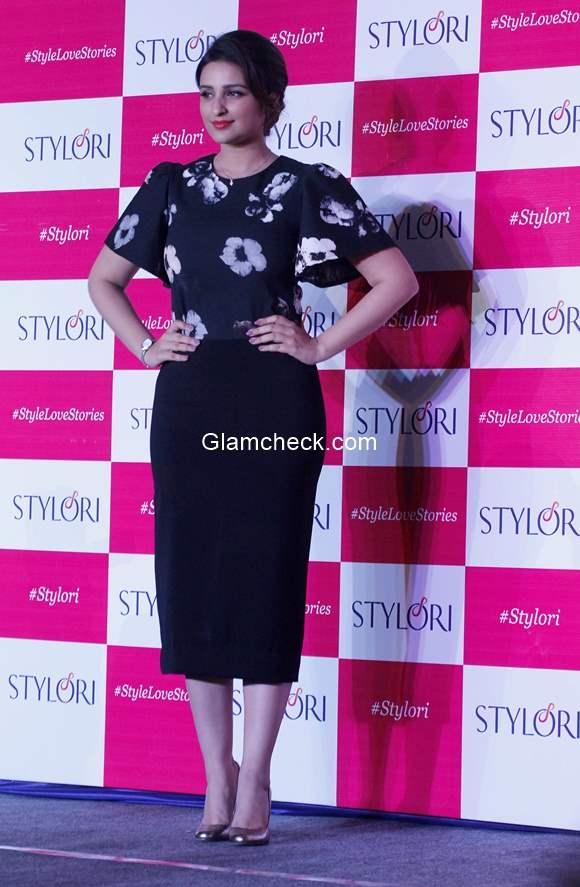 Parineeti Chopra at the launch of Stylori 2015