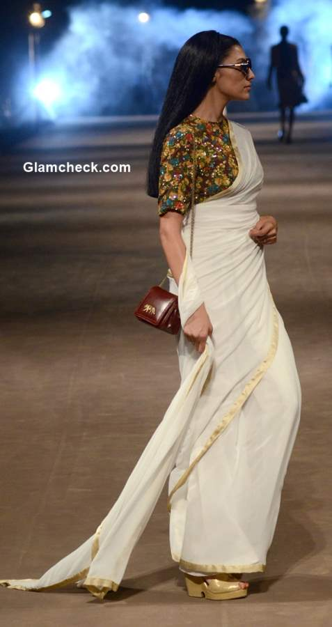 Power Dressing with a saree by Sabyasachi Mukherjee Style pick