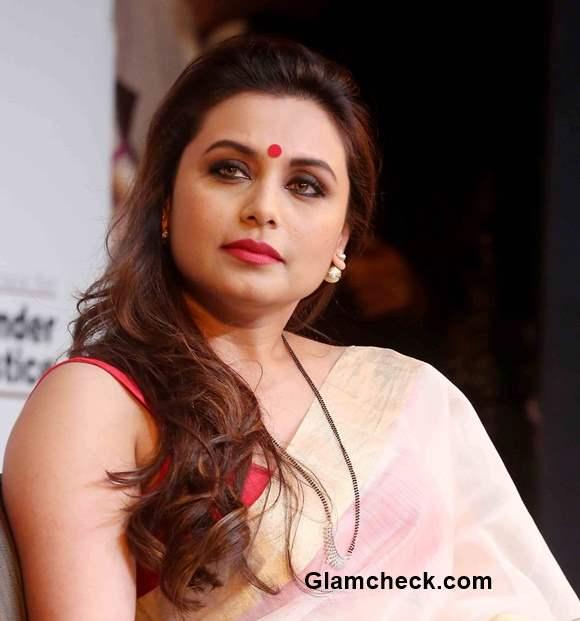 Rani Mukherjee 2015 Bengali Look