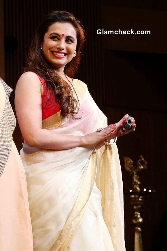 Rani Mukherjee in Sari 2015
