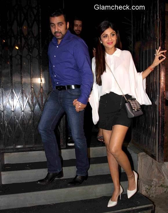 Shilpa Shetty and Raj Kundra 2015 pics