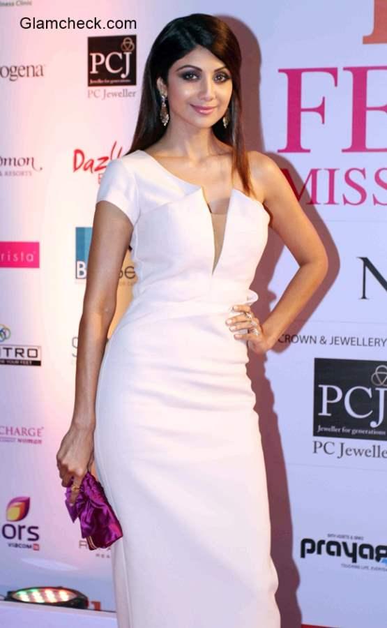 Shilpa Shetty at the Grand Finale of Femina Miss India 2015