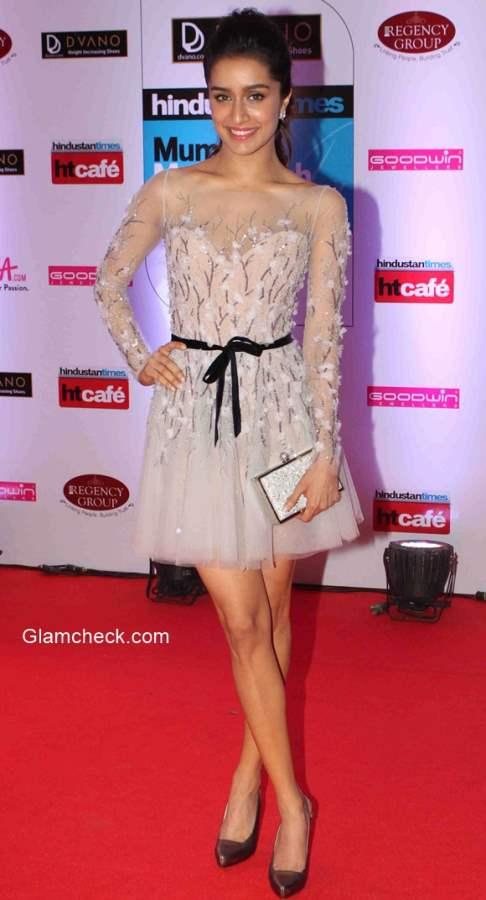 Shraddha Kapoor 2015 Hindustan Times Style Awards