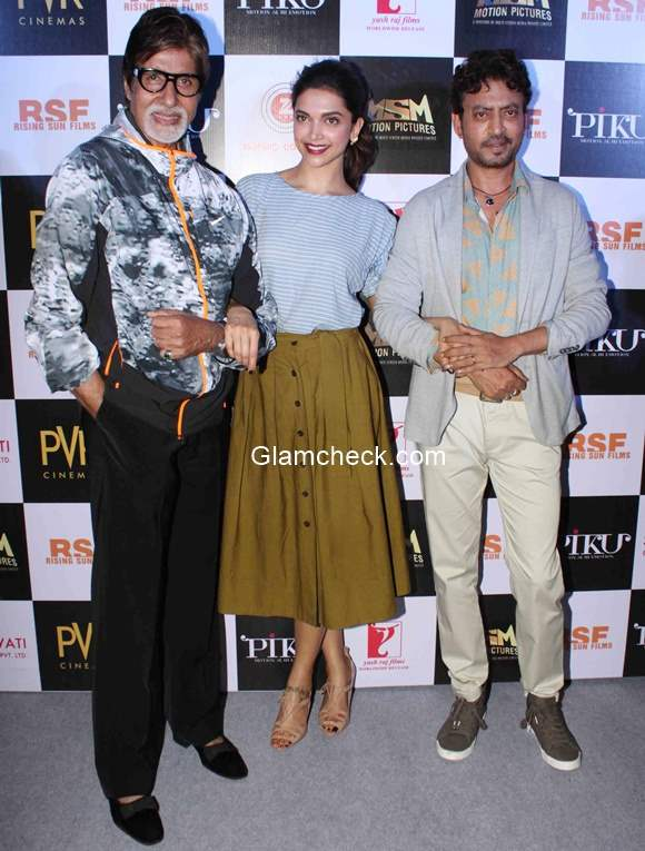 Trailer Launch of Piku launched by Amitabh Deepika and Irrfan Khan