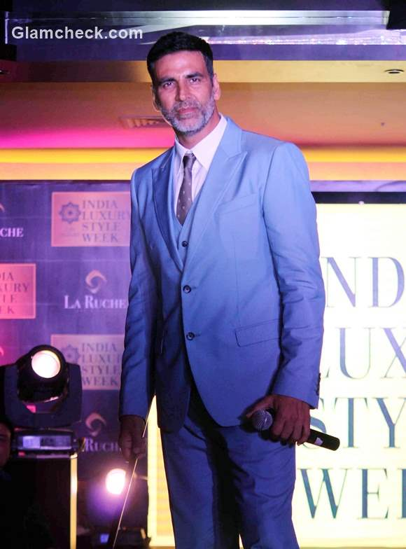 Akshay Kumar launches The India Luxury Style Week